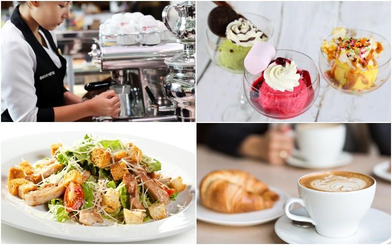 Coffee and Deli cafe near Suvarnabhumi Airport