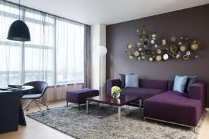 Executive Suite Living Room at Pullman Saigon Centre