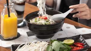 Vietnamese Authentic Breakfast Pho at Urbane Lounge