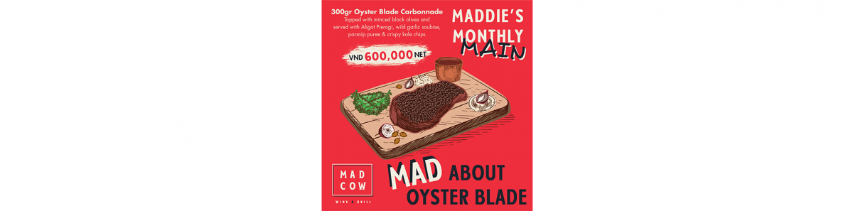 Maddie's Monthly Main: Mad about Oyster Blade Carbonnade