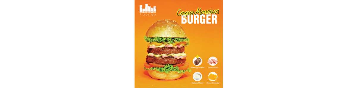 Croque-Monsieurs Burger