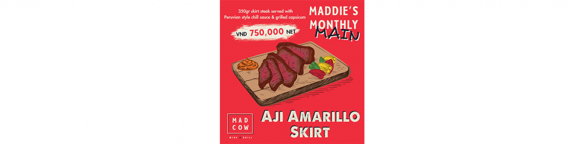Maddie's Monthly Main: Aji Amarillo Skirt