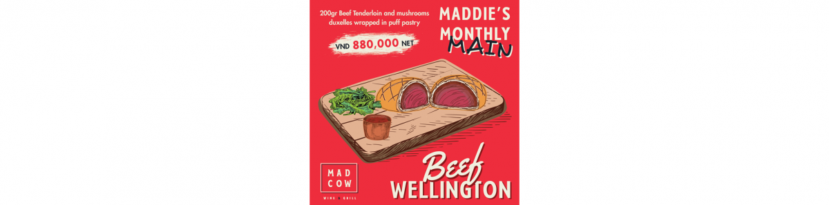 Maddie's Monthly Main: Beef Wellington