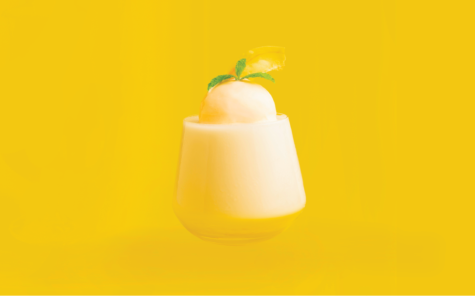 Durian cocktail drink