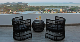 Rooftop bar phuket town