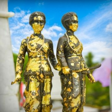 Heroines' Monument in Phuket
