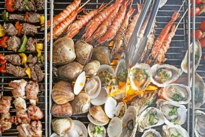 Sunday Beach BBQ BUffet at PUllman Danang Beach Resort Azure Beach Lounge View Luxury