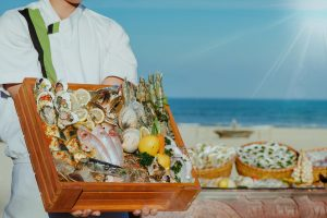 seafood restaurant in vietnam pullman danang beach resort buffet beach bbq weekends