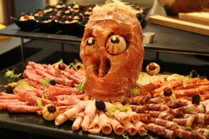 pullman danang beach resort - halloween buffet scary trick or treat epice restaurant