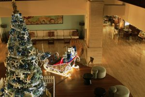 Gingerbread-Sleigh, Merry Christmas, Bicycle, Christmas tree, the junction, picture, sofa, chair, gift, light, PullmanDanangBeachResort