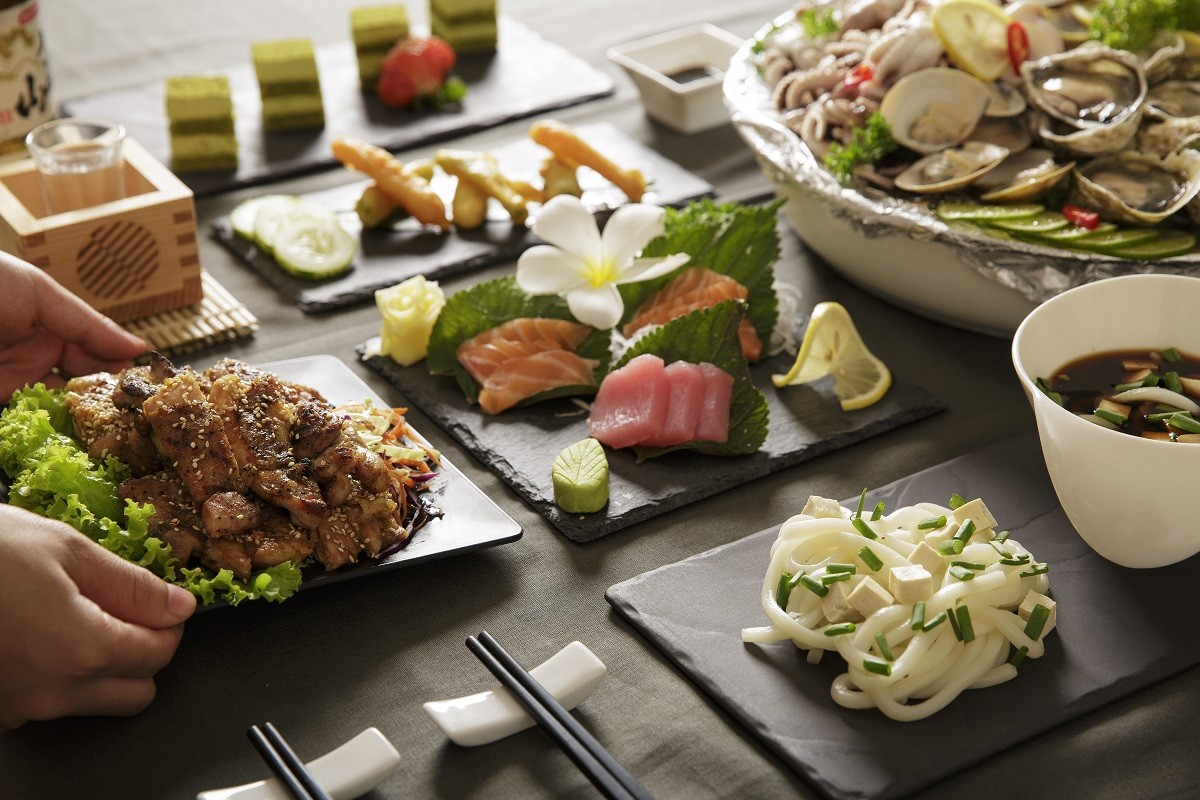 sunday beach bbq buffet in danang at azure beach lounge Japanese Delights Buffet - Available Every Sunday In March 2019