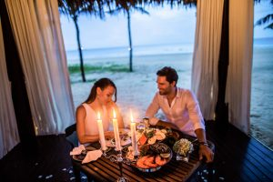 romantic honeymoon, couple package, romantic beachside resort