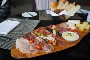 charcuterie board, epice restaurant pullman danang beach resort