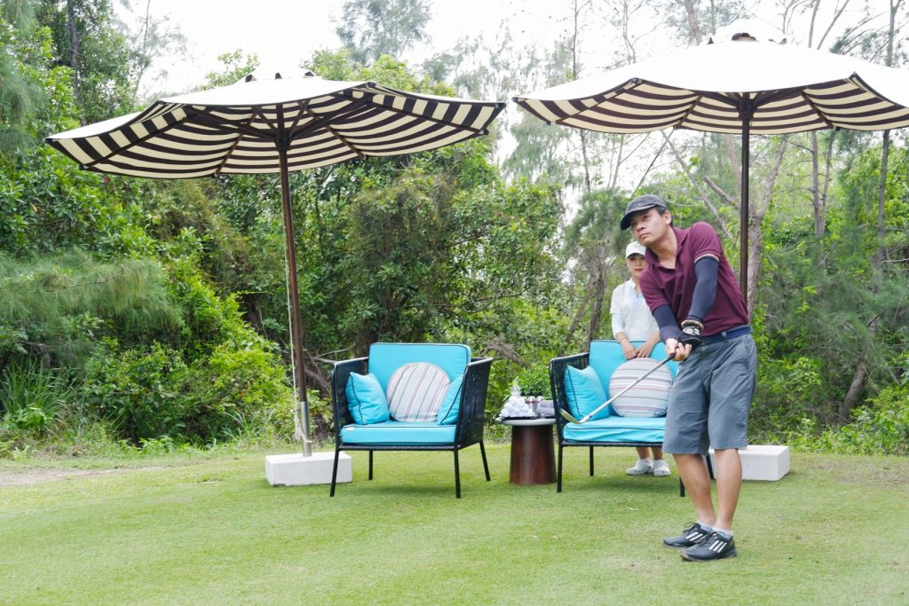 Play rounds in many of well-known golf courses in DanangVietnam
