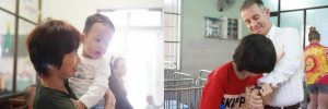 charity project at SOS village pullman danang