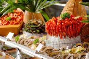 seafood buffet dinner at pullman danang