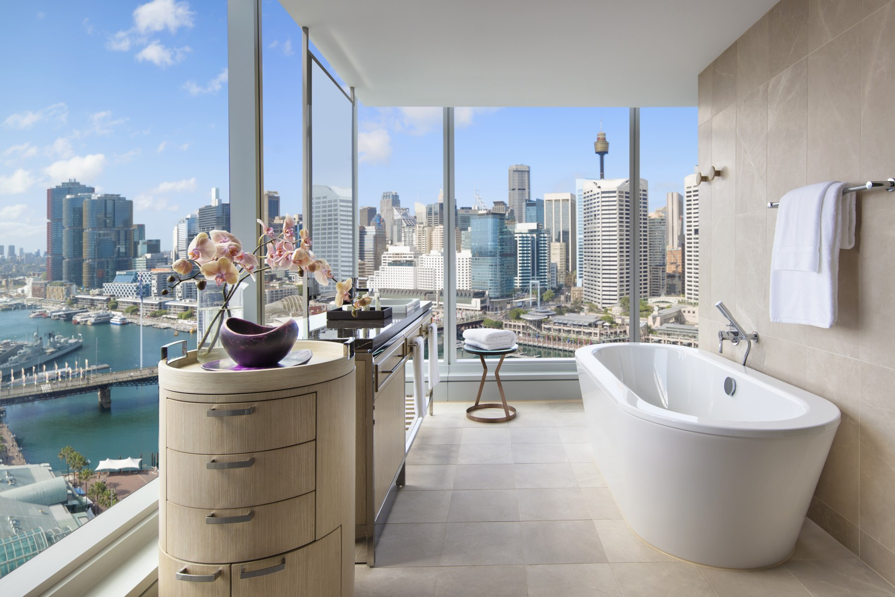 What Is Bath In French sofitel sydney darling harbour – luxury hotel – official site
