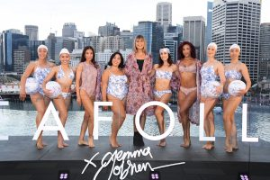 Launch of Chandon x Seafolly limited edition, at Sofitel Sydney Darling Harbour outdoor infinity pool
