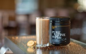 The Up+Go Coffee Shake by The Healthy Chef is the perfect energy kick to support a lean, fit and energised body. High in essential amino acids and restorative minerals.