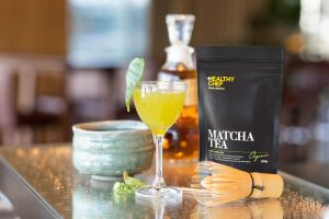 Boost your immune system with the Immune Lover magnificent cocktail infused with skin-boosting marine collagen and Matcha tea, high in antioxidants, chlorophyll, aminoacids and L-theanine.
