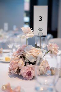 Wedding set up in the magnifique ballroom in Sofitel Sydney Darling Harbour