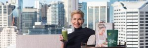 Teresa Cutter, The Healthy Chef, presenting new WELLNESS offering at Sofitel Sydney Darling Harbour