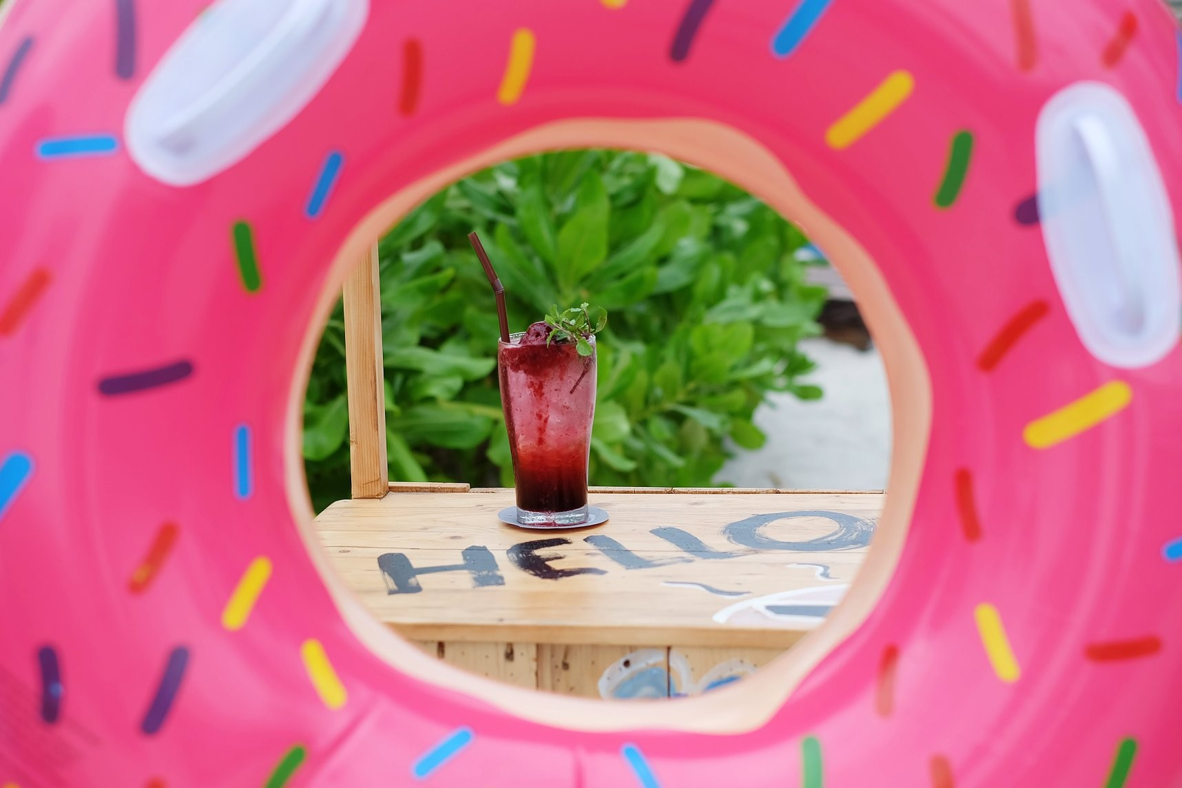 Stylish and instagrammable beach cafe at Hua Hin