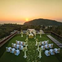 Sea view wedding venue
