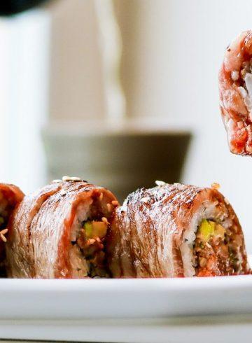 wagyu-beef-sushi-roll