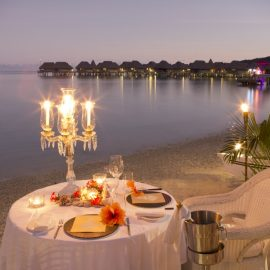sofitel moorea beach dinner