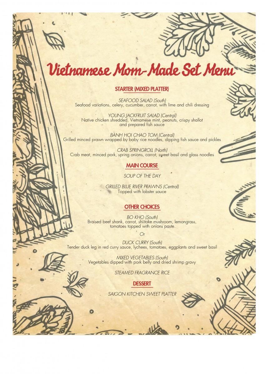 Hôtel des Arts Saigon, MGallery Collection - Mommade-menu