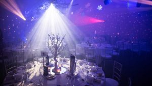 Winter Wonderland themed dinner Conference Space Fairmont Resort Blue Mountains