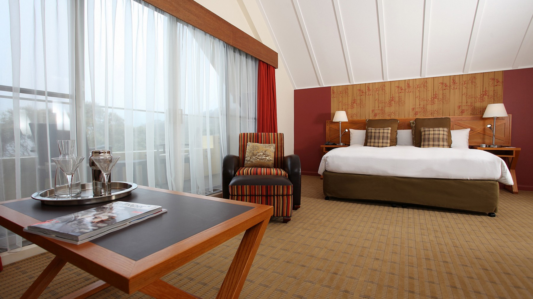 Deluxe Accommodation Room Fairmont Resort Blue Mountains