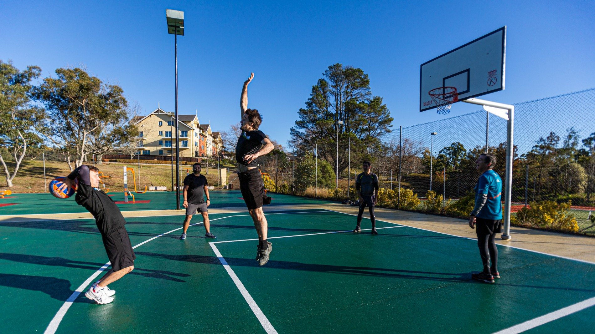 Fairmont Resort Spa Blue Mountains Mgallery By Sofitel Basketball Court Outdoor Gym