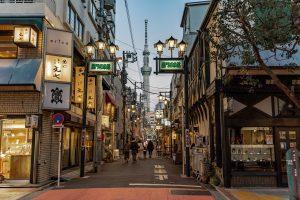 Tokyo's streets & Tokyo Sky Tree