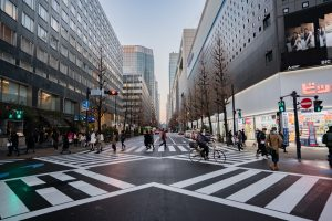 Ginza's Streets